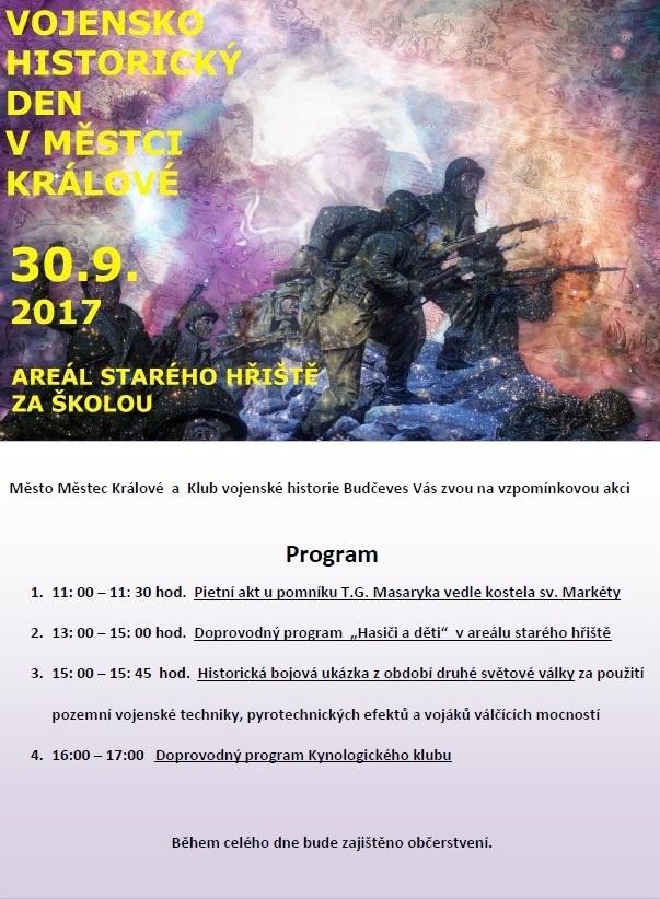 Vojensko historický den v Městci Králové 1