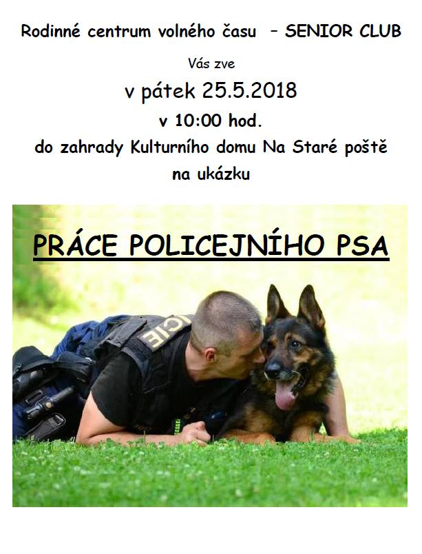 Ukázka práce policejního psa 1
