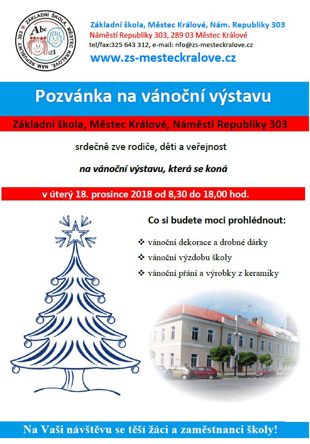 Vánoční výstava 1